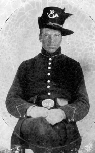 Private Henry R. McCollum, Company H, 2nd Wisconsin Infantry. McCollum was killed on July 1. NPS