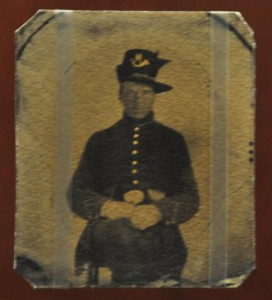 Pvt. McCollum fought with the 2nd Wisconsin Infantry, part of the Iron Brigade. He died in the ferocious fighting near Herbst's Woods on the first day of the battle
