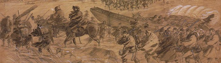 Army of the Potomac, winter of 1863. (Library of Congress)