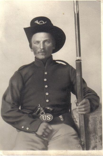 Pvt. Erasmus Anderson, Co. F