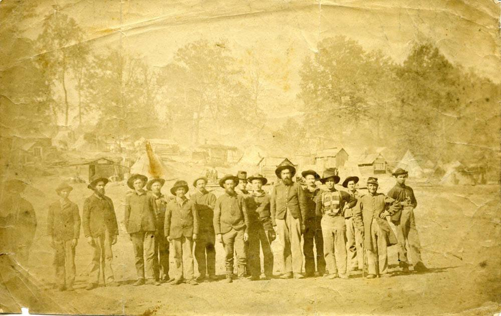 13th Illinois Infantry, encamped at Helena, Arkansas, 1862