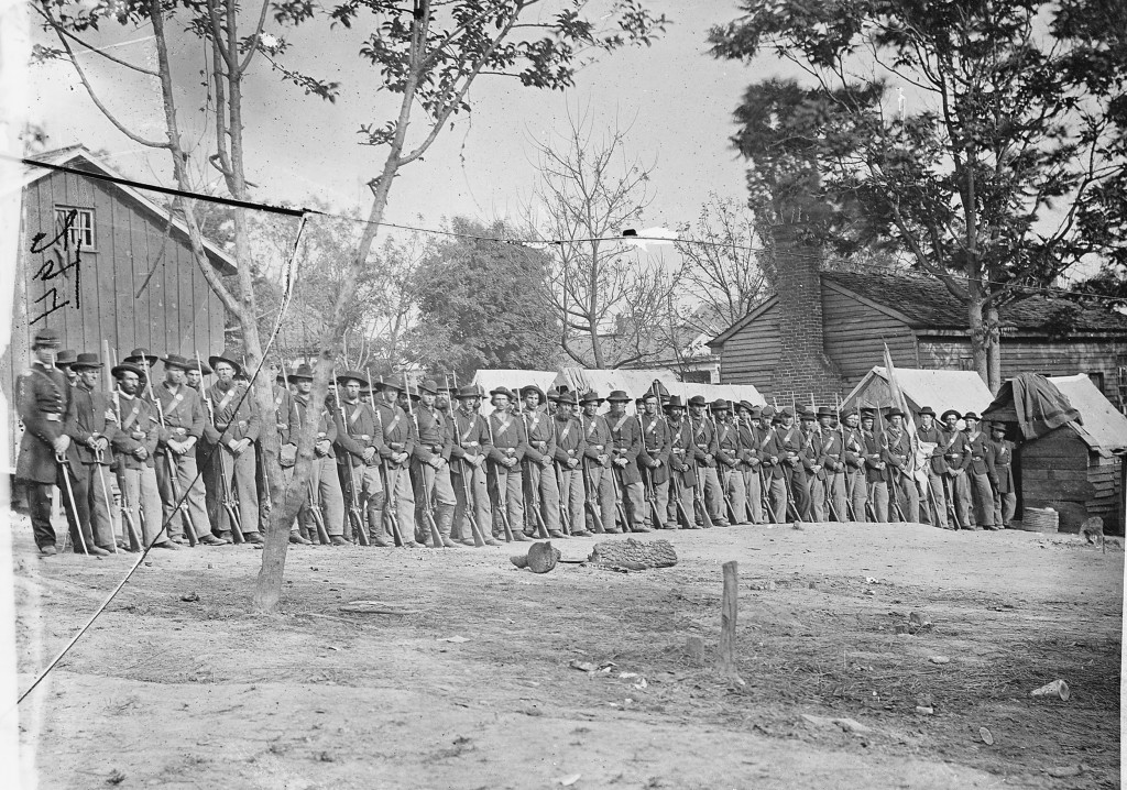 21st-Michigan-regiment-in-camp-near-Murf