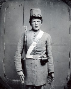 Pvt. Frederick Lythson, 2nd Wisconsin Infantry