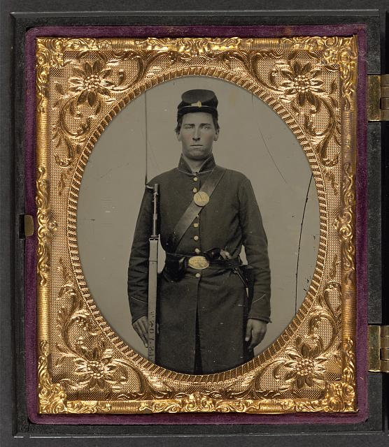 Isaac Yost of Company C, 118th Regiment Illinois Infantry