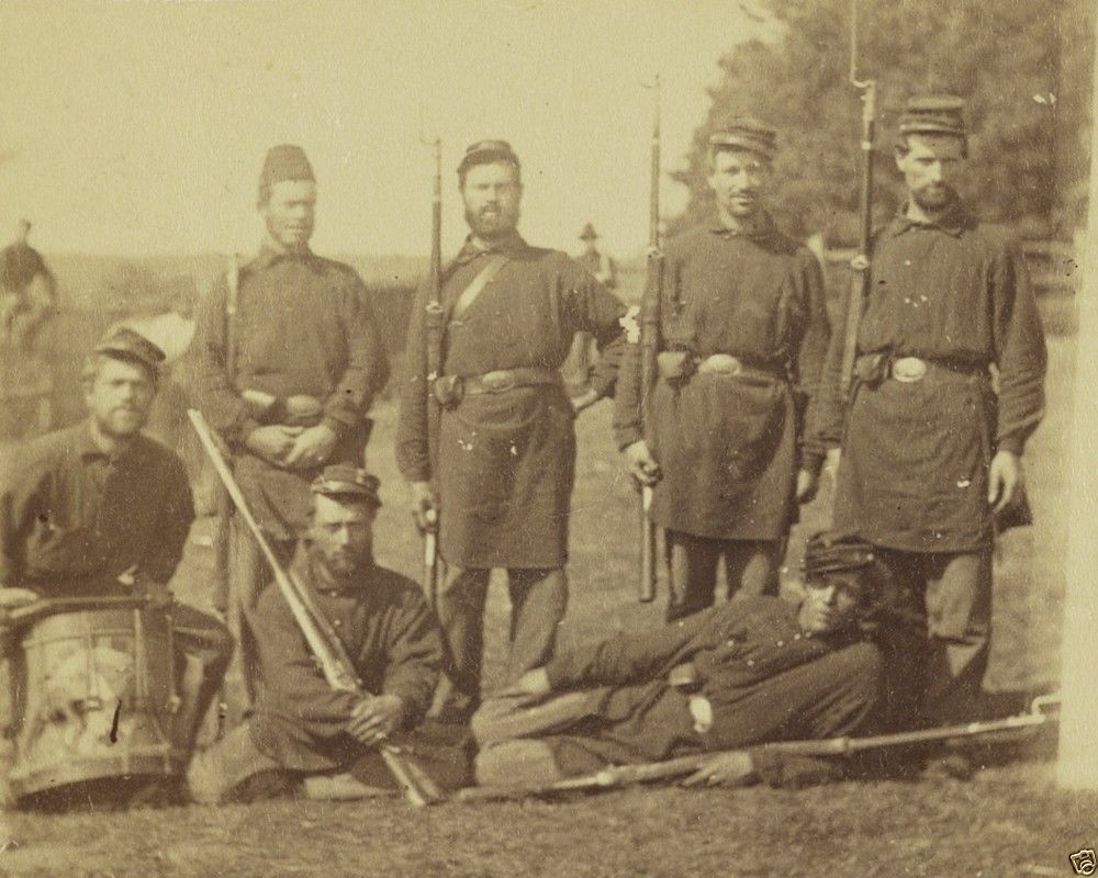 2nd Rhode Island Infantry Soldiers