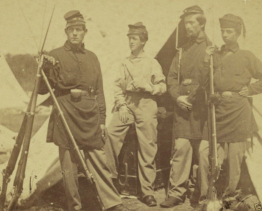 2nd Rhode Island Infantry Soldiers_2