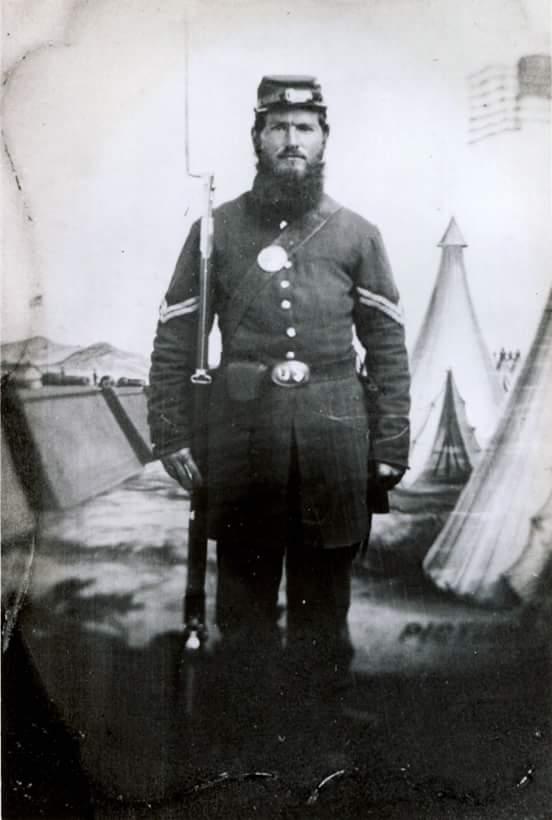 Corp. Joseph F. Wentworth, 12th New Hampshire, Co. G