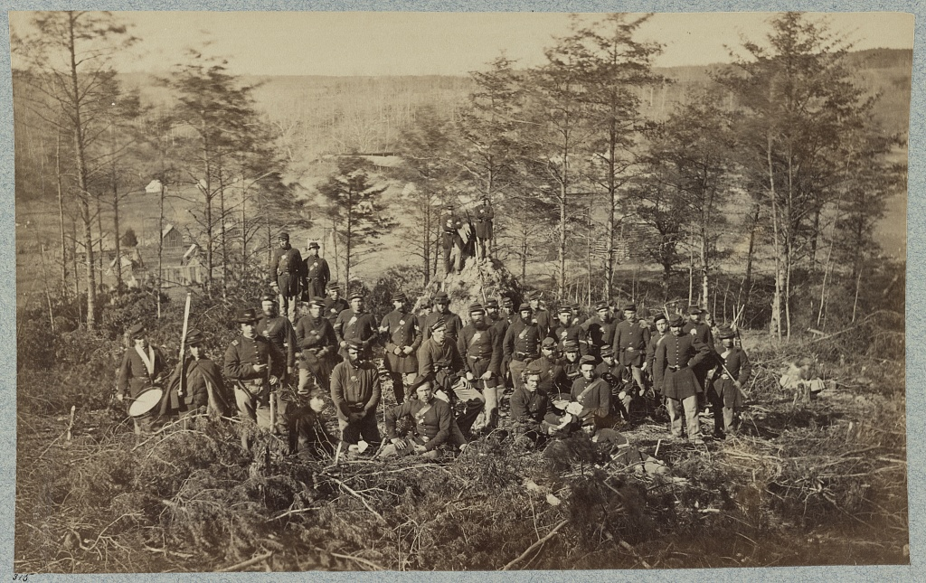 Soldiers of the 170th New York Infantry, Corcoran's Irish Legion during the Civil War