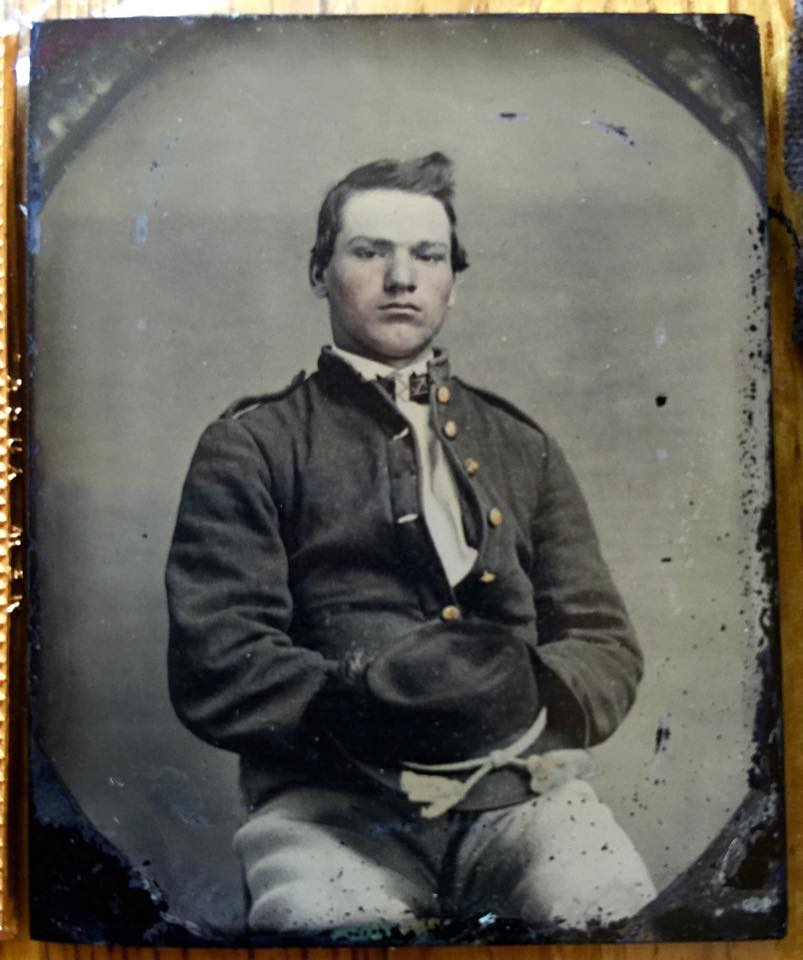 Michael Opper. 31st Illinois infantry company А