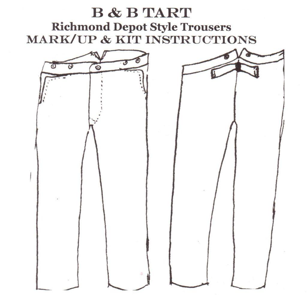 B&B Tart Pants Kit