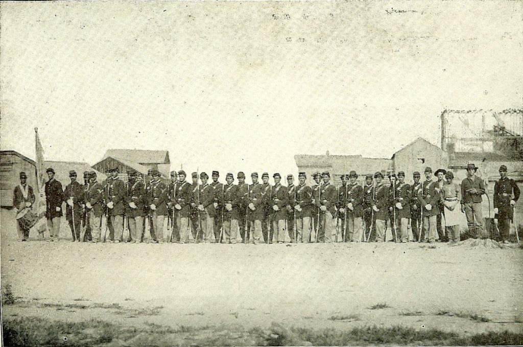 Co. D 7th Iowa Infantry