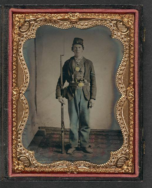 Pvt. Hiram Kersey, 44th Iowa Infantry