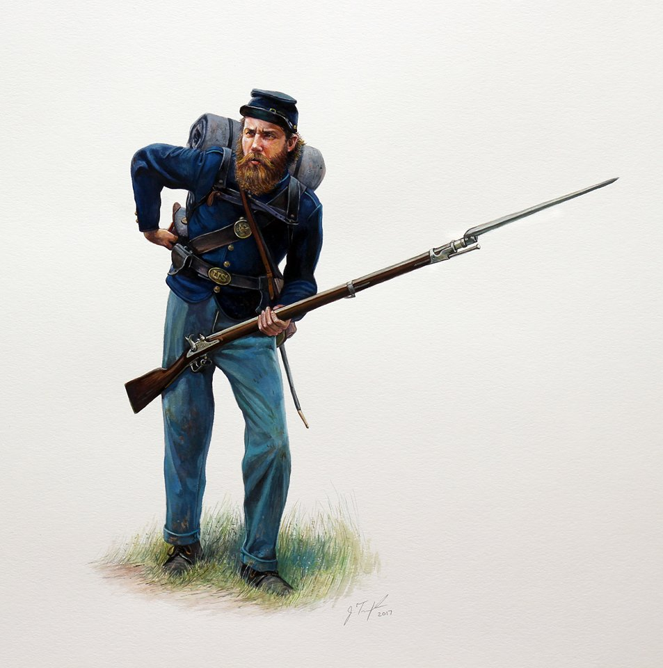 7th Iowa Infantry, 1861