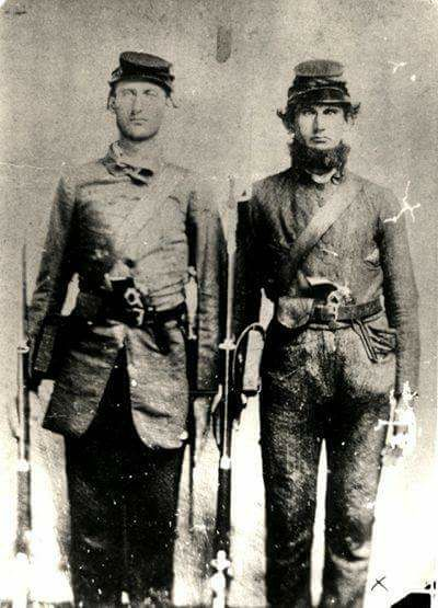 unidentified Confederate soldiers