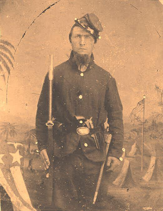 100th Pennsylva 1862 Pvt. Patrick Creegan, Co. M