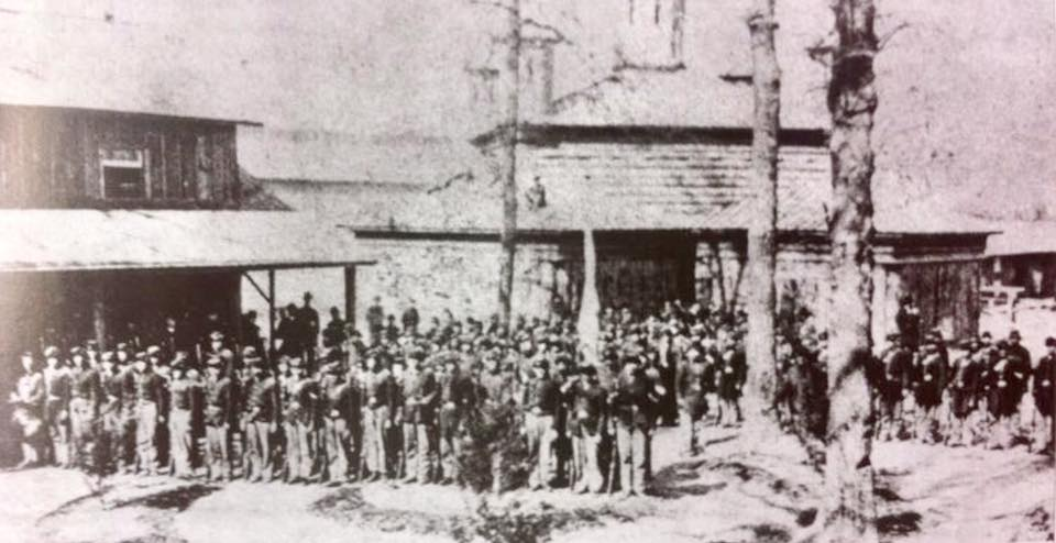 33rd Indiana Infantry in 1862