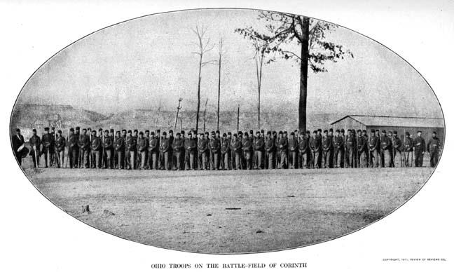 81st Ohio, Corinth MS, 1862