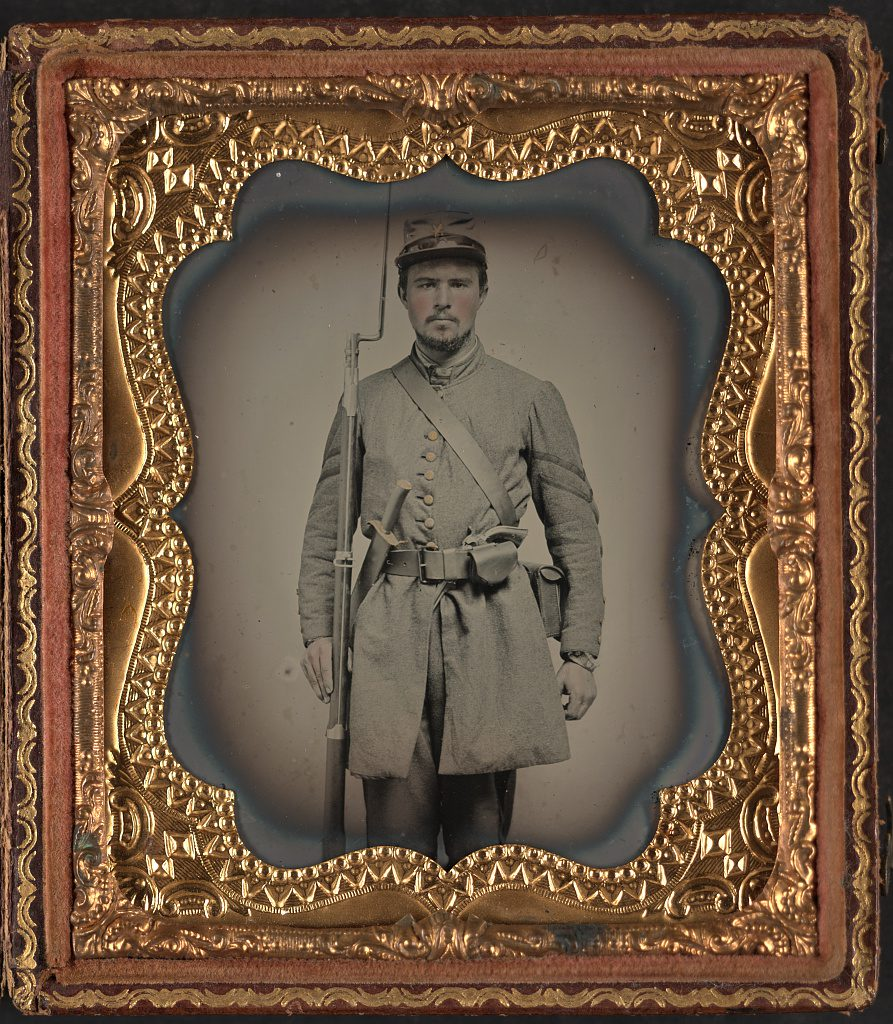 Corporal C. Dorma Clarke of Co. F, 23rd Virginia Infantry Regiment