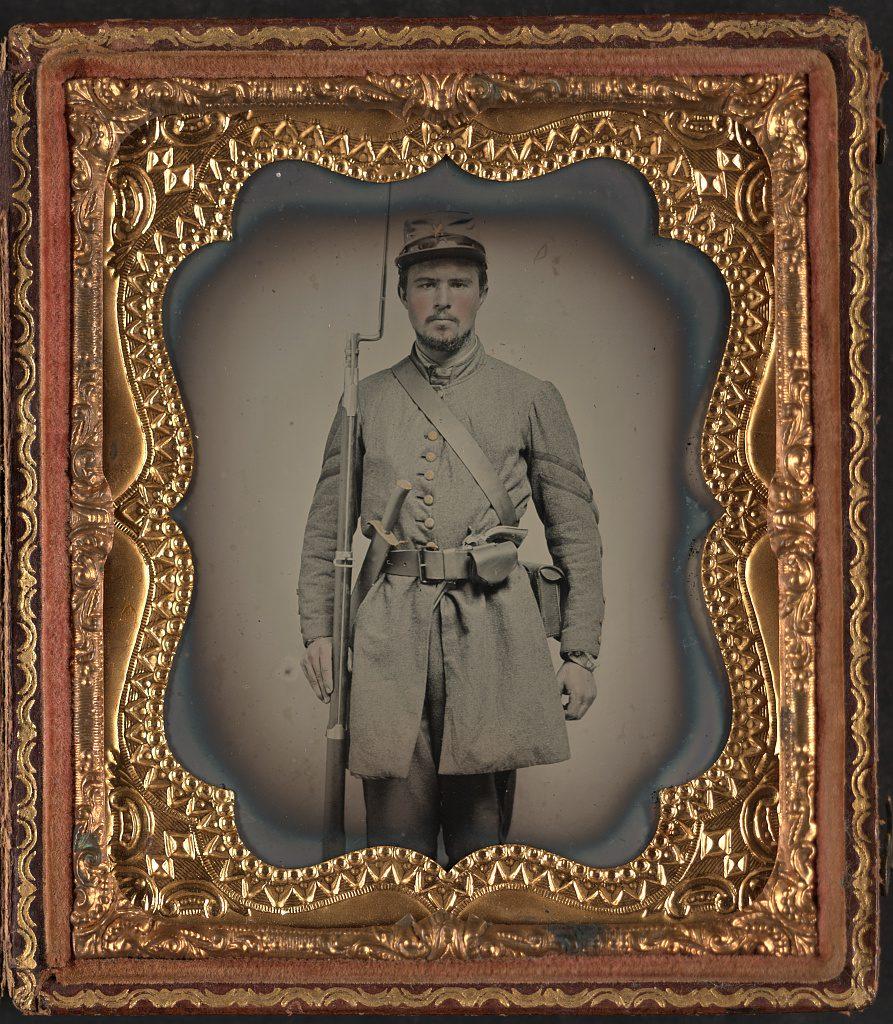 Corporal C. Dorma Clarke of Co. F, 23rd Virginia Infantry Regiment