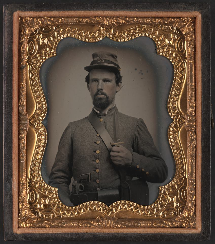 Corporal Edward Lindsey Clarke of Co. F, 23rd Virginia Infantry Regiment