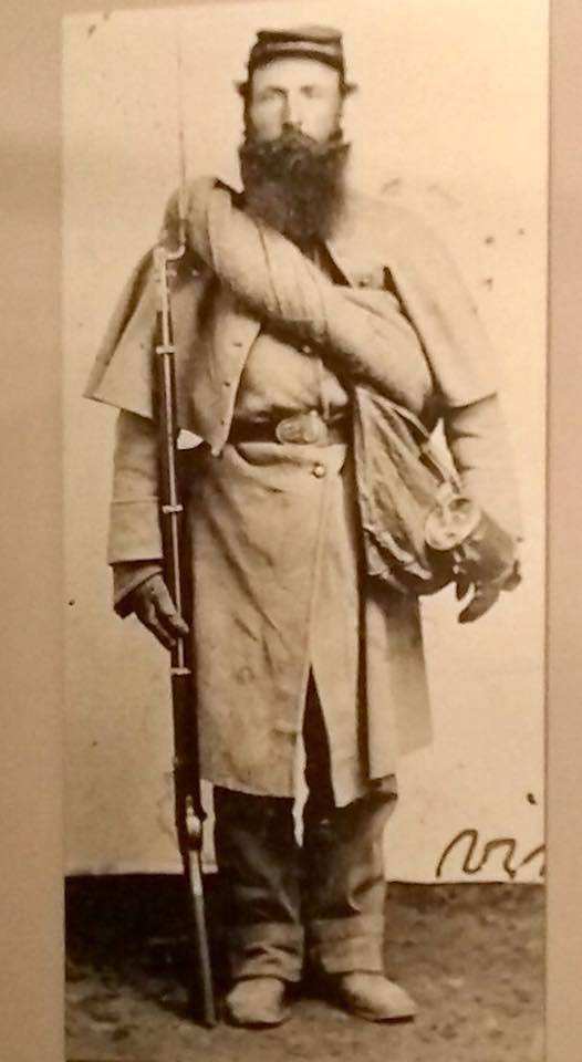 Corporal William Wyatt, Co. D, 117th Illinois Infantry