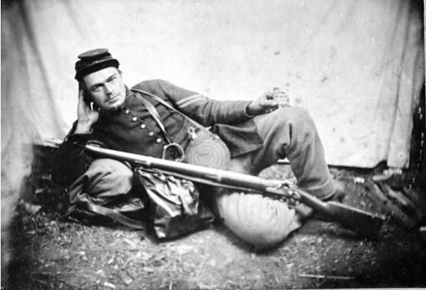 Cpl. Ignatz Gresser, Company D, 128th Pennsylvania Infantry