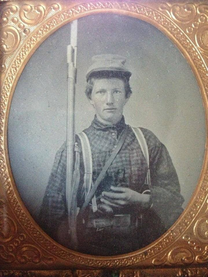 Private William Walter Smith, Company A, Logan Greys, 9th Kentucky Infantry