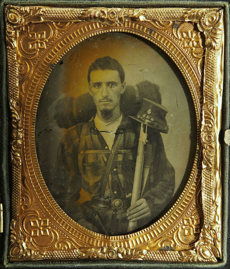 Soldier from 4th Sumter Light Guards.