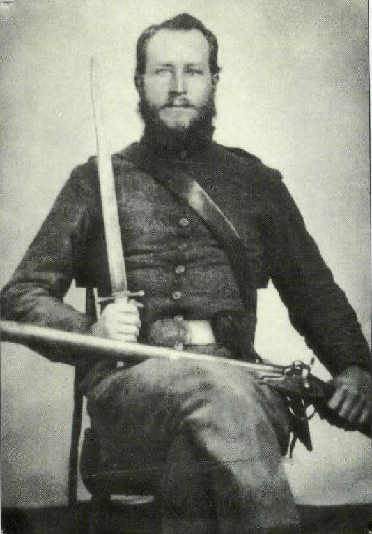 G.B. Dozier, Company B, 18th Alabama Infantry.