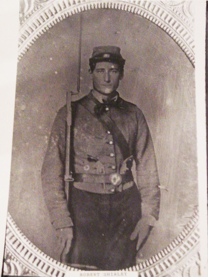 Pvt. Robert T. Shirley, Company I, The Roanoke Invincibles, 13th Alabama Infantry. He was killed at the Battle of Antietam