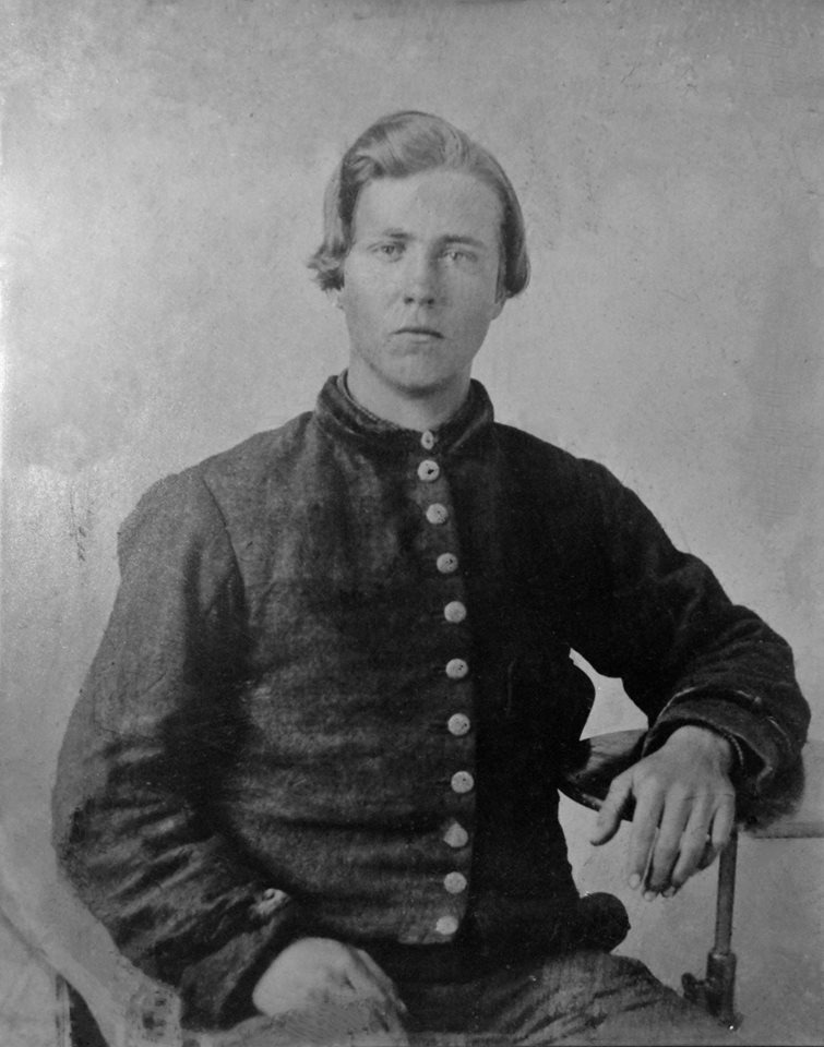 Pvt. William Anderson Oliver Fowler, Company B, 17th Alabama Infantry.