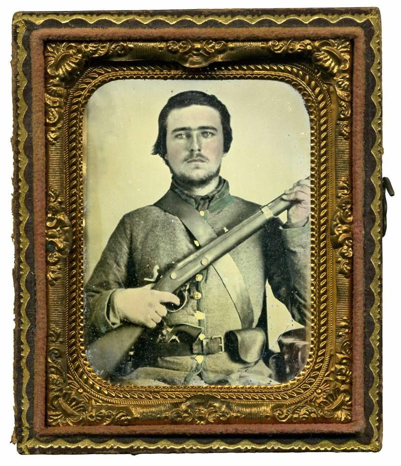 Pvt. William H Austin of Co. H 1st S.C. Infantry (Orr's Rifles)