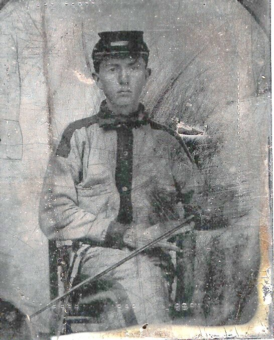 Pvt. William Walter Maddox, Company A, 46th Alabama Infantry.