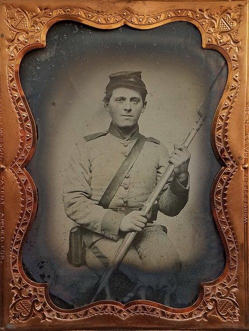 Unidentified Mississippi infantryman