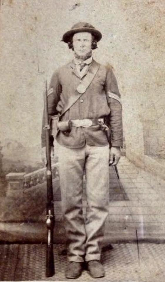 Joseph Knott of the 43rd Missouri Infantry