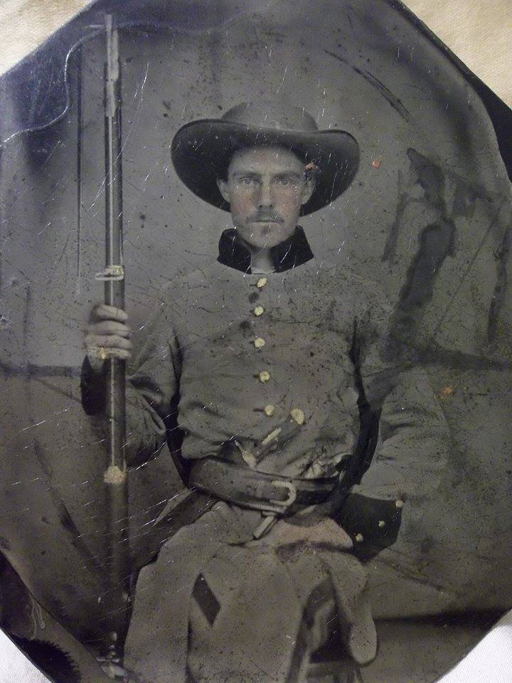 Pvt. Stephen L. Shelton, Company G, 6th Tennessee Infantry
