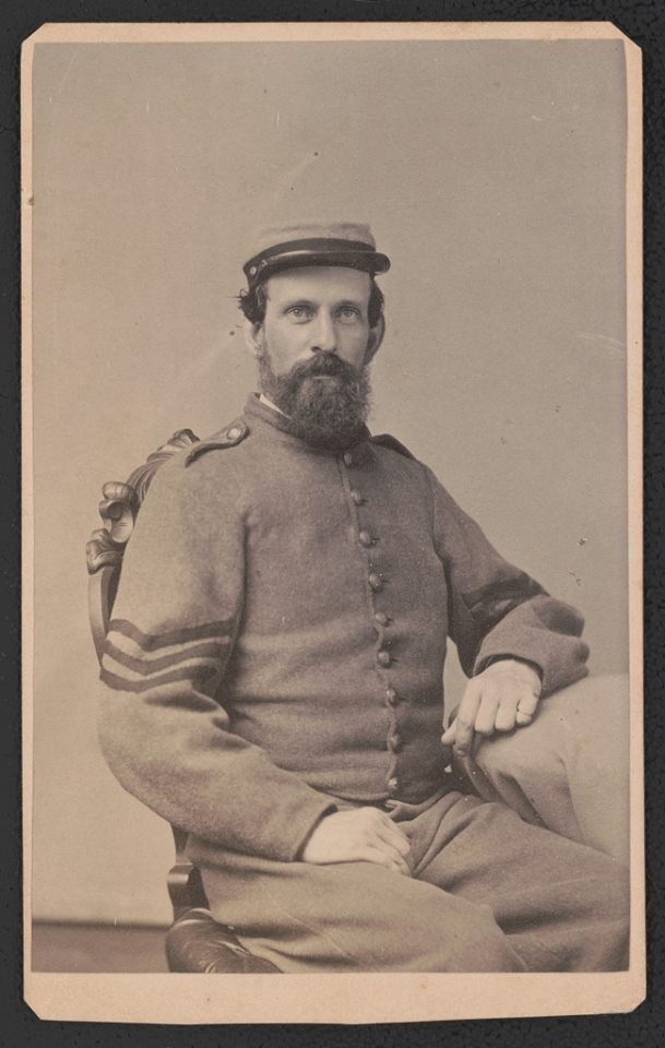 Sergeant John R.A. Reece of Co. B, 9th Virginia Infantry Regiment