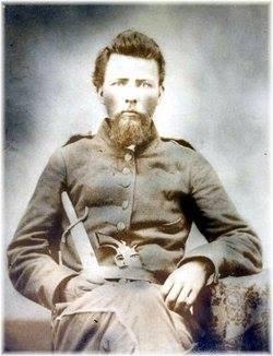 Sergeant John Simeon Moon, of Company H, The Goshen Blues, 38th GA
