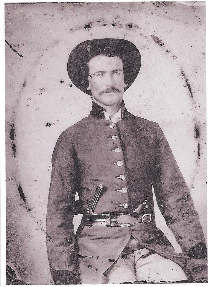 Sgt. James T. Whiteside, Company C, 5th Arkansas Infantry.
