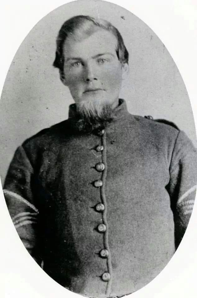 Sgt. Major Drury D. Coffey of the 58th NC Infantry.